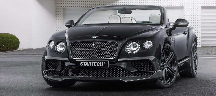STARTECH Bentley Continental Cabriolet Front View