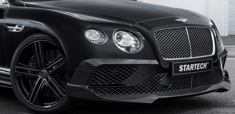 STARTECH Bentley Continental Cabriolet Wheels and Front Bumper