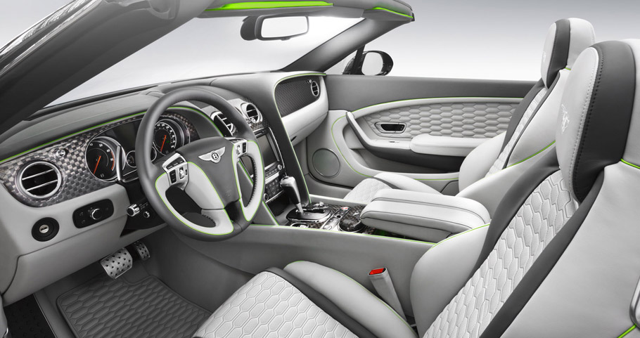 STARTECH Bentley Continental Cabriolet Interior