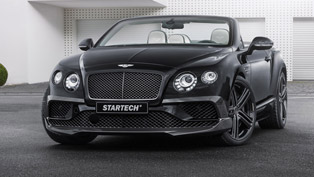 STARTECH Displays Sportier Bentley Continental Cabriolet in Frankfurt