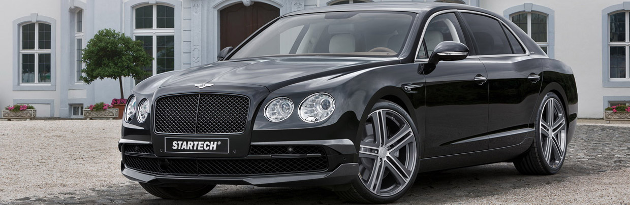 STARTECH Bentley Flying Spur Front View