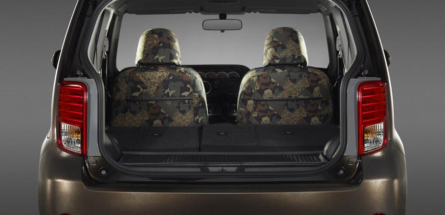 Scion xB 686 Parklan Edition Interior