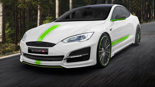 tesla s model received some additional significance by mansory team