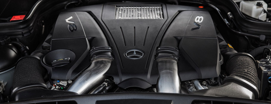 VÄTH Mercedes-Benz E500 Cabriolet - Engine