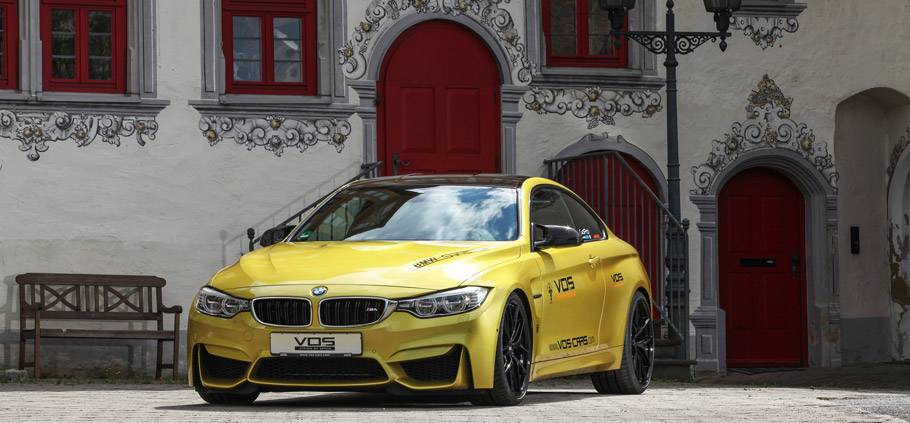 VOS BMW M4 Front View