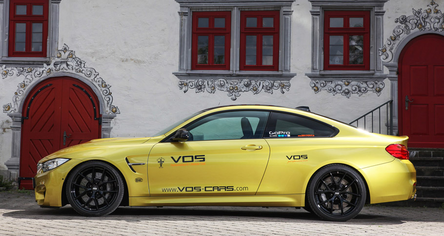 VOS BMW M4 Side View