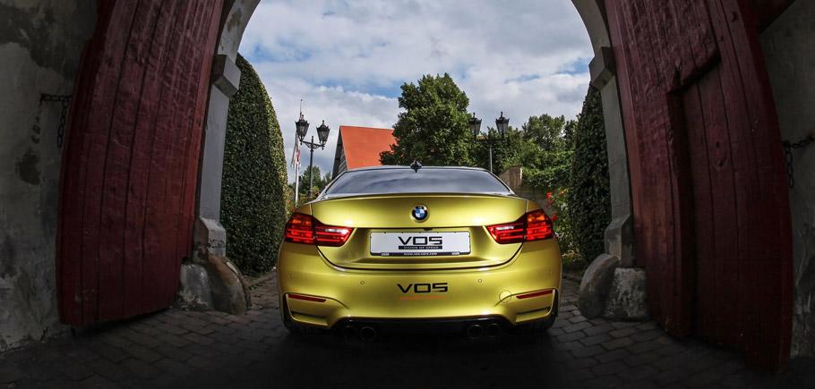 VOS BMW M4 Rear View