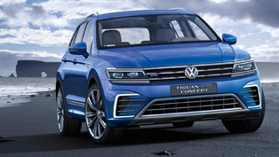 Volkswagen Tiguan GTE Concept Is Ready for the Road Challenges!