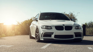 Contrast is Everywhere. Including Vorsteiner BMW M3 E92