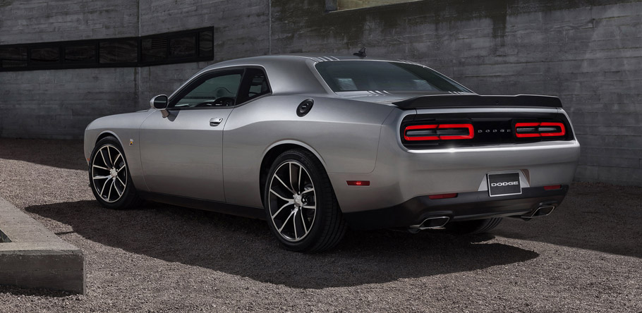 2016 Dodge Challenger Blacktop Rear View