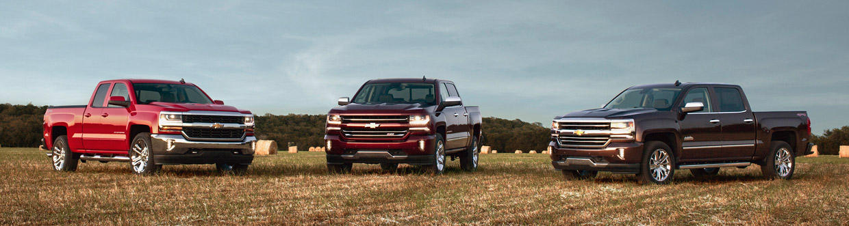 Chevrolet Silverados for MY2016