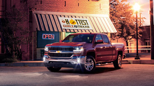 Chevrolet Silverado 1500 Comes Stronger in 2016 Model Year
