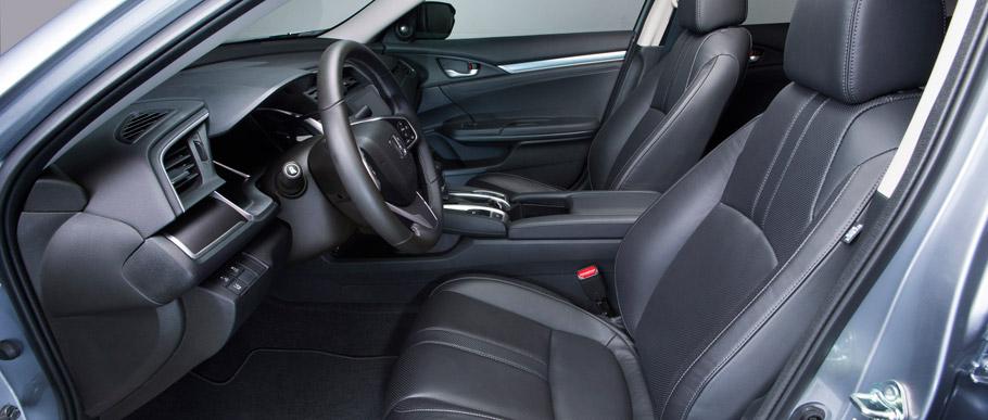 2016 Honda Civic Sedan Touring Interior