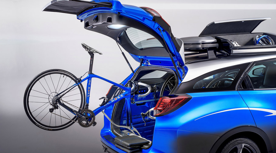 Honda Civic Tourer Active Life Concept Trunk