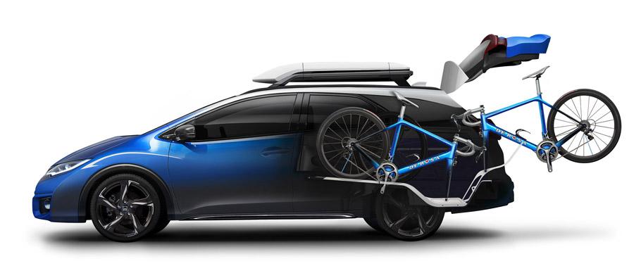 Honda Civic Tourer Active Life Concept Side View