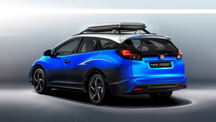 Meet the Athletic Honda Civic Tourer Active Life Concept