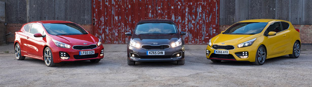 Kia cee'd Lineup Receives Some New Engines