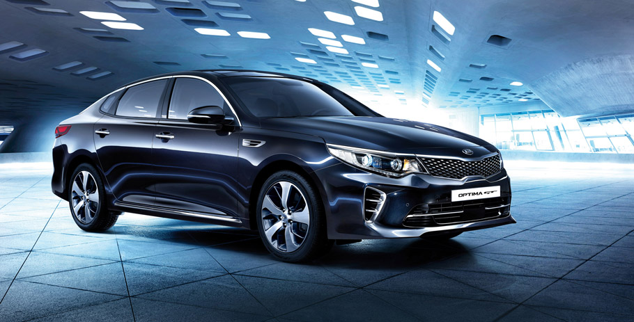 Kia Optima GT Fron View