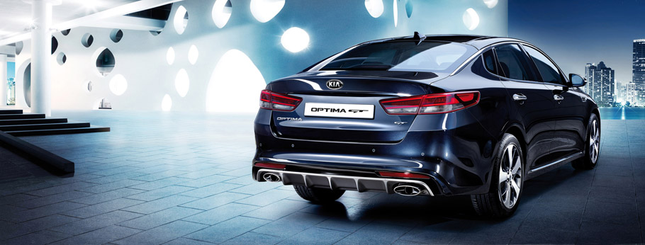 Kia Optima GT Rear View