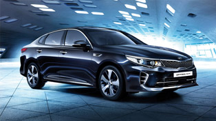 2016 Kia Optima GT Prototype Revealed in Frankfurt
