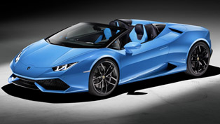 Lambo Huracan Spyder With Convertible Top? Yes, Please!