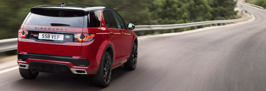 2016 Land Rover Discovery Sport Comes with even more goodies