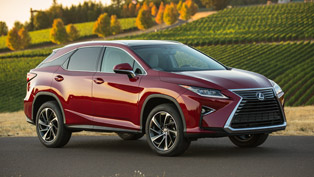 2016 Lexus RX Comes With Style, Flexibility and Utility