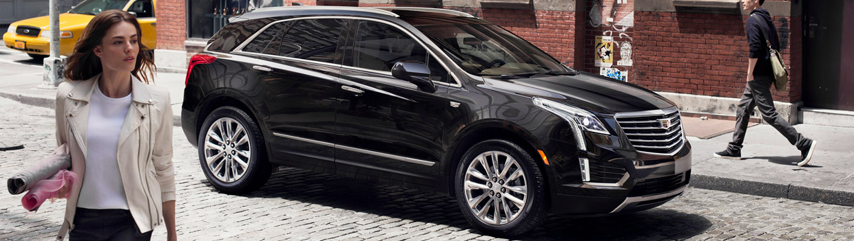2017 Cadillac XT5 Side View