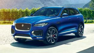 2017 jaguar f-pace revealed in details