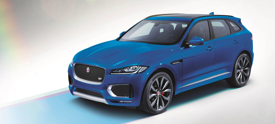Jaguar F-PACE First Edition Front View