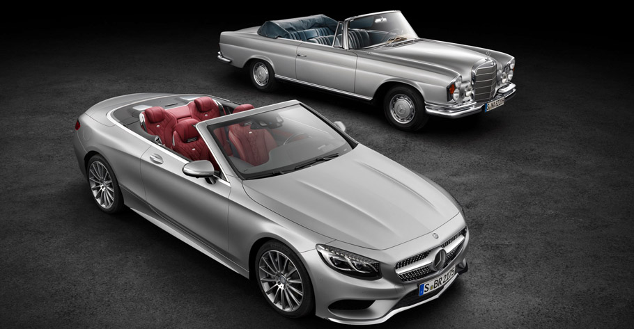 Mercedes-Benz S-Class Cabriolet Two Variants
