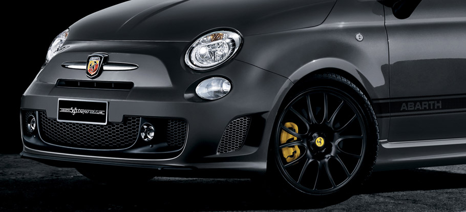 Abarth 595 Trofeo Edition Details Up Front