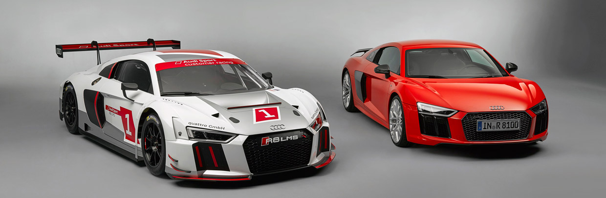 Audi R8 and Audi R8 LMS GT3