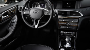 Infiniti Shows Q30's Interior Ahead of Frankfurt Debut