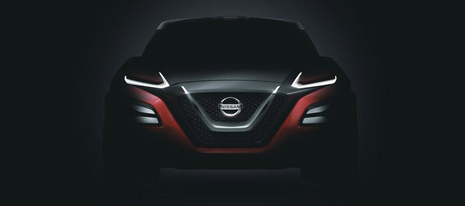 Nissan GripZ Concept front View Teaser