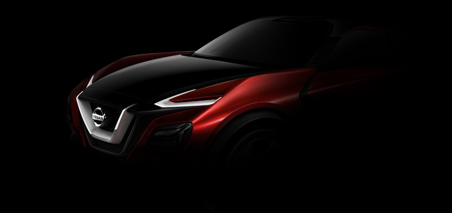 Nissan GripZ Concept Side View Teaser