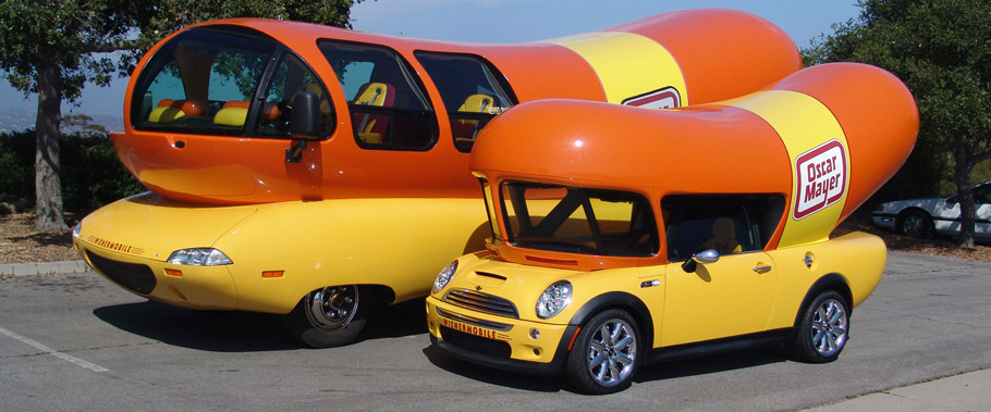Oscar Mayer Weinermobile Side View