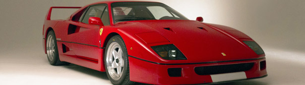 An Unique 1994 Ferrari F40 Looks For Its New Owner