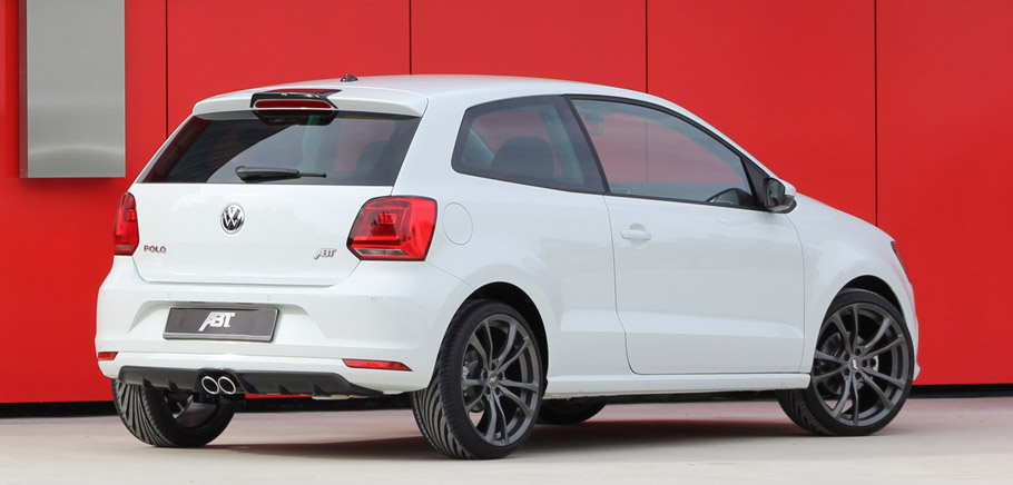 2015 ABT Volkswagen Polo Rear View