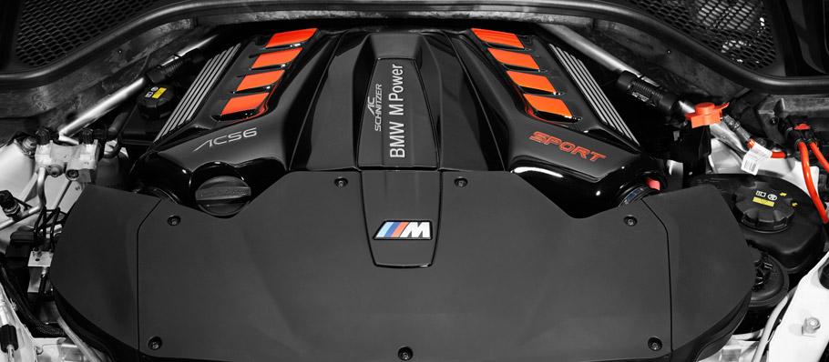 AC Schnitzer BMW X6 M Engine