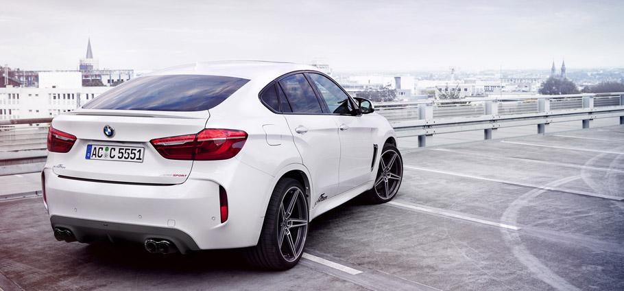 AC Schnitzer BMW X6 M Rear View