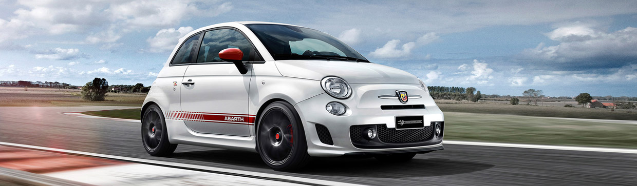 Abarth 595 Yamaha Factory Racing Edition Front View