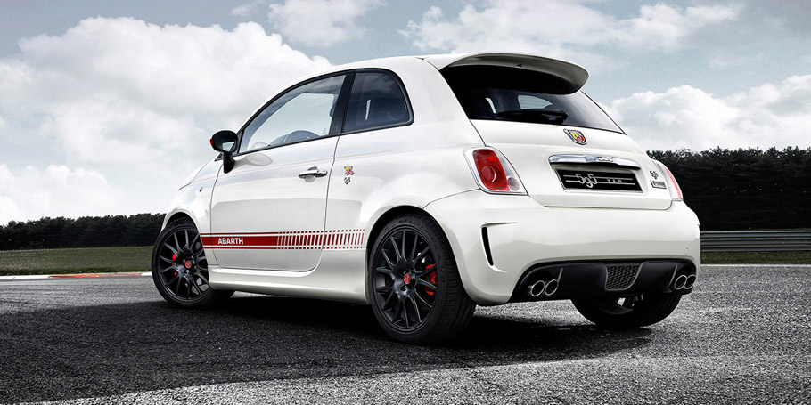 Abarth 595 Yamaha Factory Racing Edition Rear View