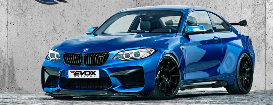 Alpha-N Performance BMW M2-RS Side View