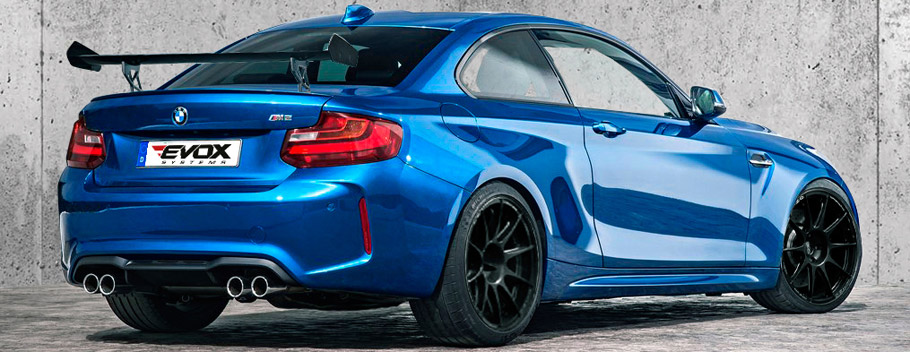 Alpha-N Performance BMW M2-RS Side and Rear View