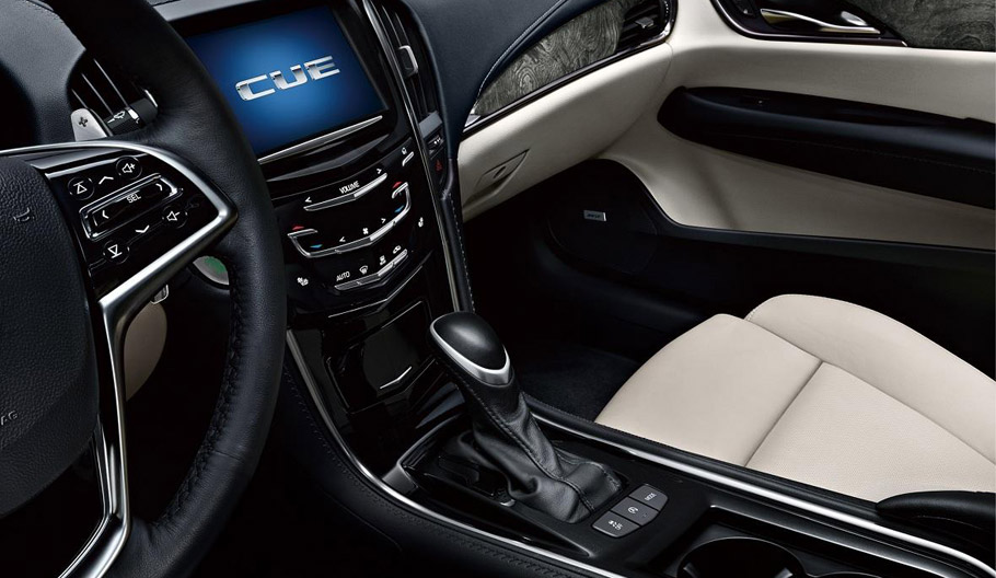 Cadillac ATS-L Luxury Sport Sedan Interior