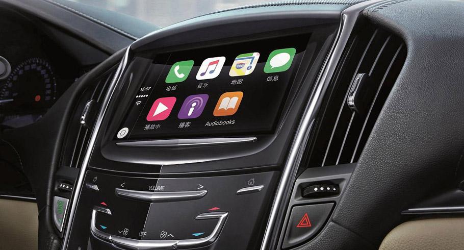 Cadillac ATS-L Luxury Sport Sedan Connectivity System