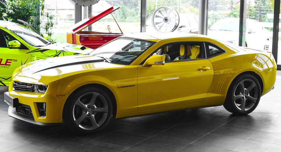 Carlex Design Chevrolet Camaro ZL1 Side View
