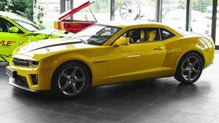 Bumblebee Inside and Out: Meet Carlex Design Chevrolet Camaro ZL1