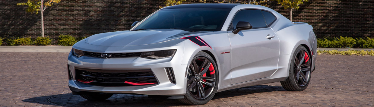 Chevrolet Camaro Red Line Series Concept Side View